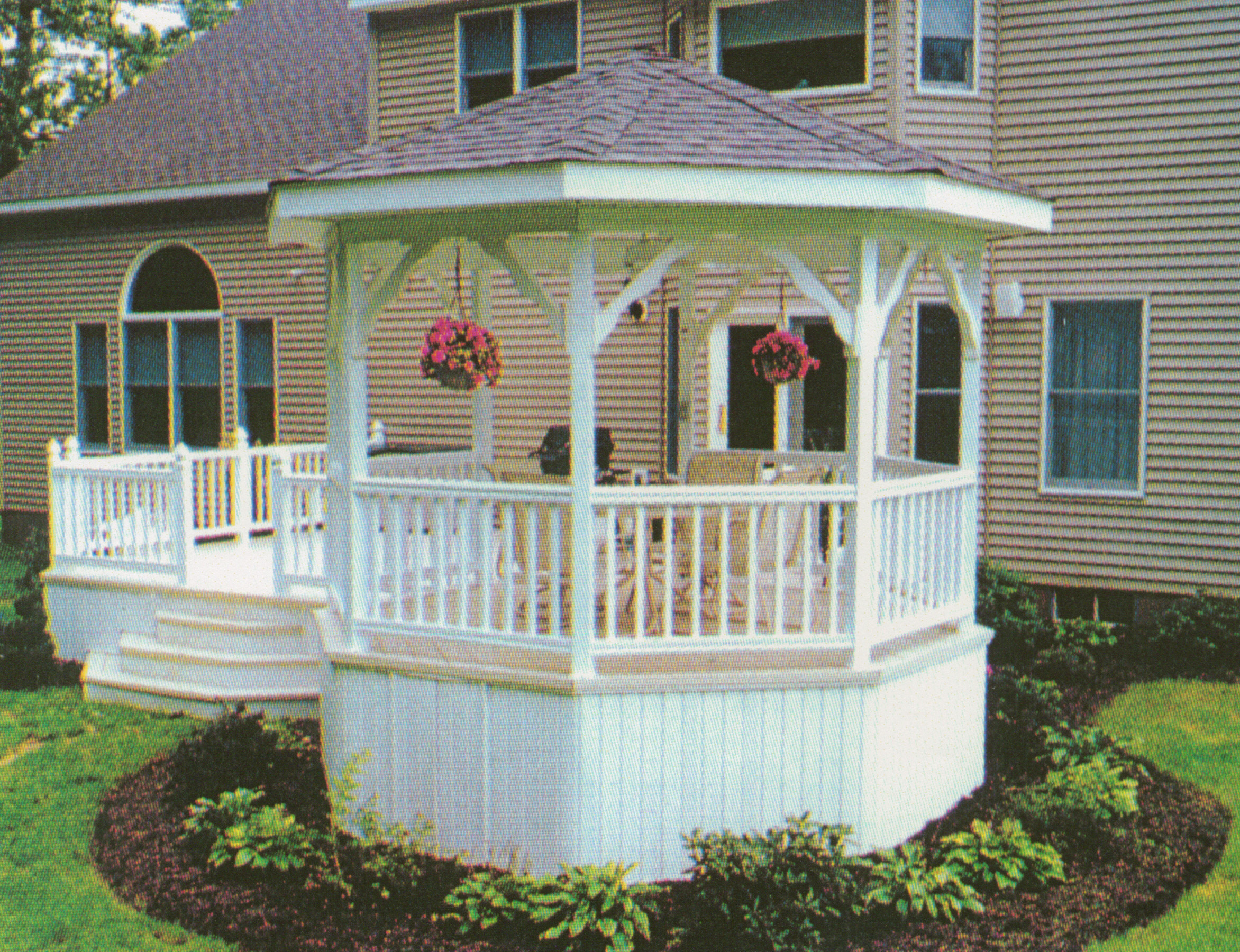 Deck with Gazebo